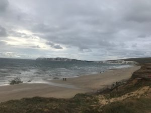 Isle-of-wight-in-a-day-Freshwater-Bay-Beach